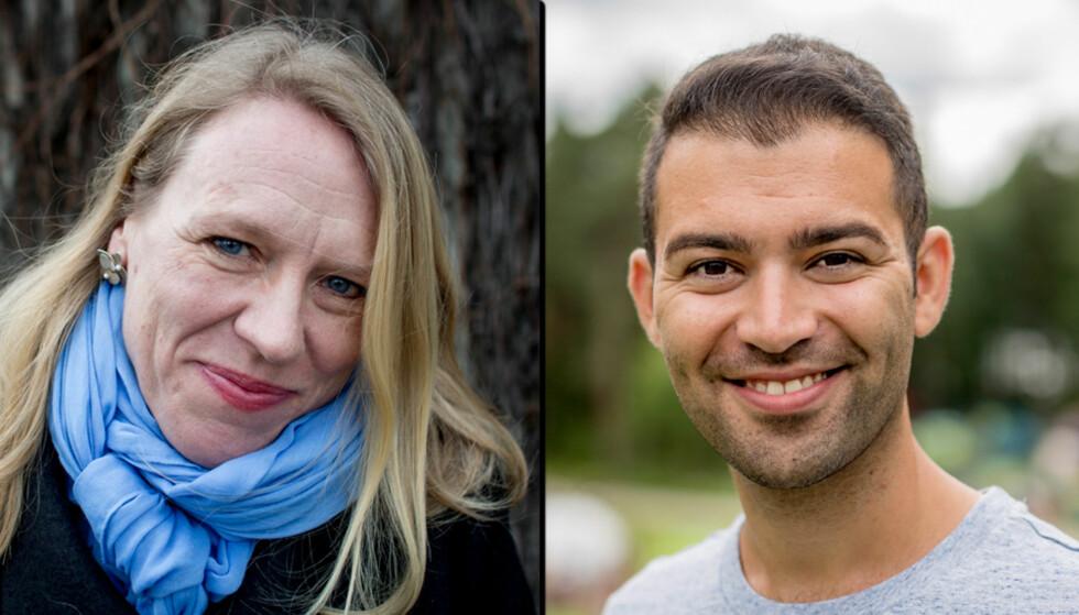 VIL FJERNE K-EN i KRLE: Anniken Huitfeldt og Mani Hussaini. Foto: Sveinung U. Ystad og Anita Arntzen