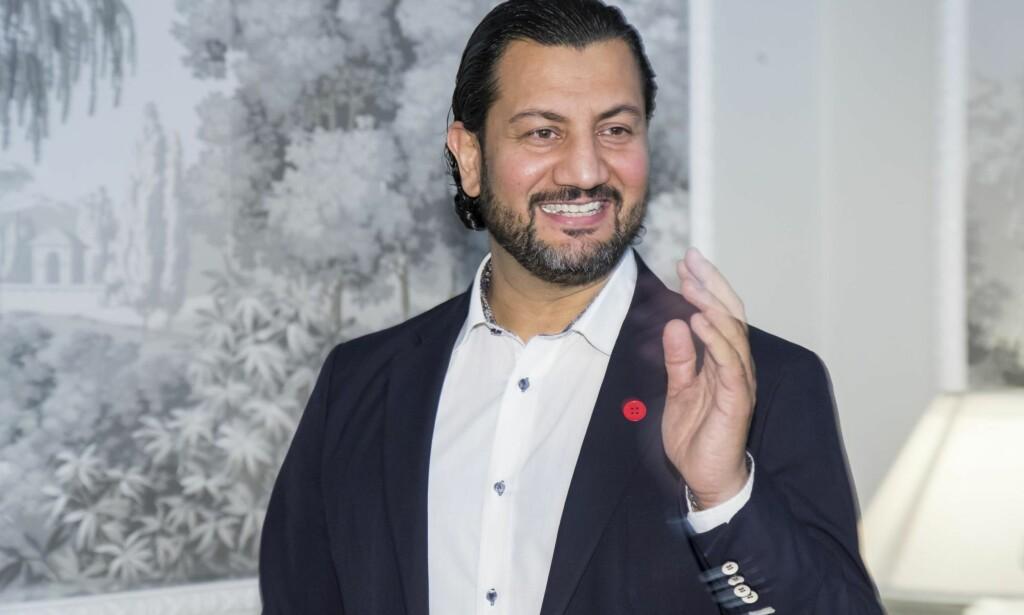 «OFFER»:Generalsekretær Mehtab Afsar i Islamsk Råd Norge kritiseres av artikkelforfatterne for å gå inn i offerrollen. Foto: Heiko Junge / NTB Scanpix
