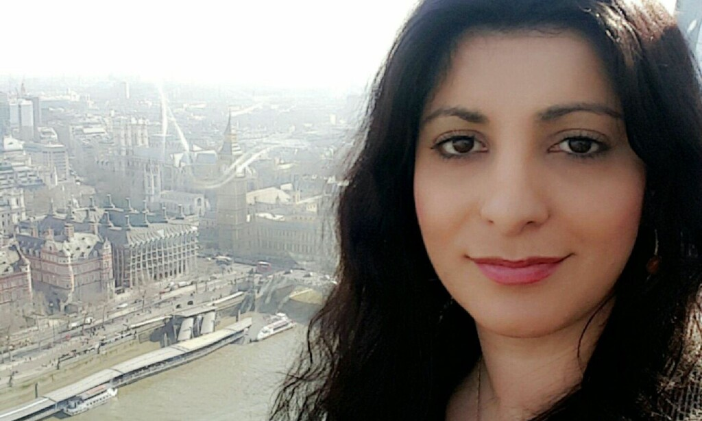 Rania Al-Nahi, Student og samfunnsdebattant. Foto: Privat