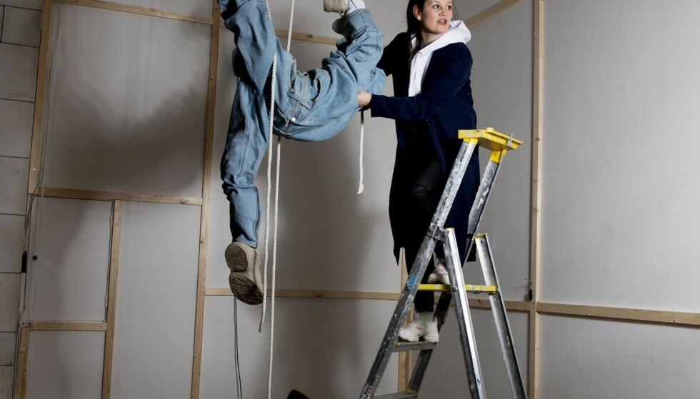 FLYVENDE: Tori Wrånes er en sånn person som kan se over hodet ditt og tenke, der var det mye ledig rom! Det må vi bruke! Foto: SIV JOHANNE SEGLEM