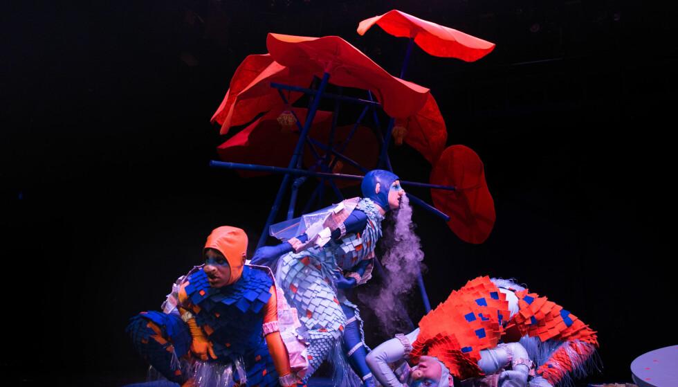 STEMNINGER: «Drake-zoo» er lagd for de minste barna, fra null til tre år. Foto: Siren Høyland Sæter, Det Norske Teatret
