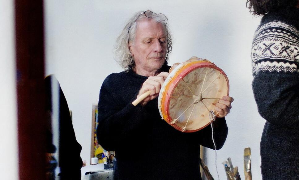 DØD: Kunstner Frans Widerberg døde fredag. Foto: Agnete Brun / Dagbladet