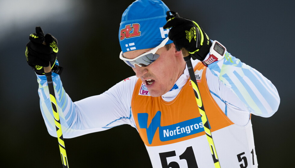 SLUTT: Sami Jauhojärvi gir seg som aktiv langrennsløper. Foto: Jon Olav Nesvold / NTB scanpix