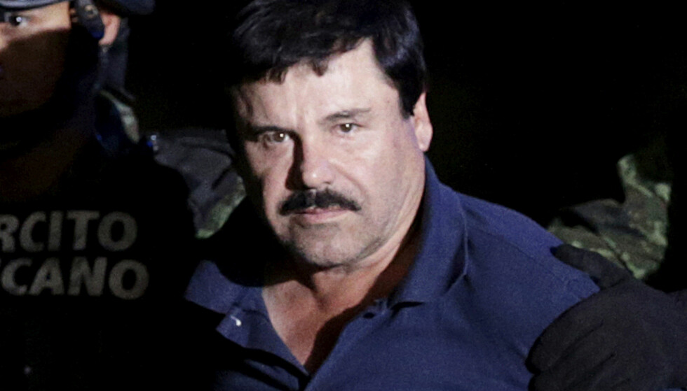 SKYLDIG: Den mexicanske narkobaronen Joaquin «El Chapo» Guzman (61) er kjent skyldig i narkotikaforbrytelser i en domstol i New York. Foto: Reuters / NTB Scanpix