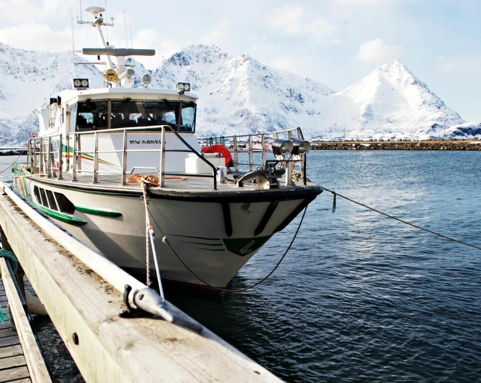 BÅTTJENESTE: Med Loppalegen til fjerne fjorder på oppdrag fra AMK. Foto: Olav Gunnar Ballo