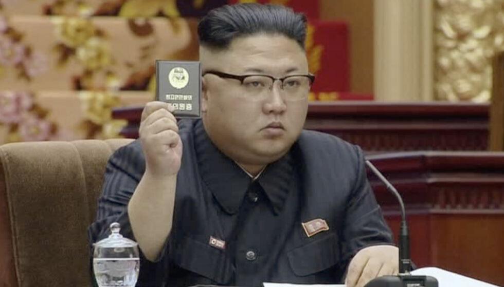 Truer med atomangrep: USA har sendt hangarskipet Carl Vinson og en rekke andre krigsskip i retning den koreanske halvøya, som et svar på de nylige rakettestene fra Nord-Korea. Det lukkede regimet svarer med trusler om atomangrep. Foto: AP / NTB Scanpix