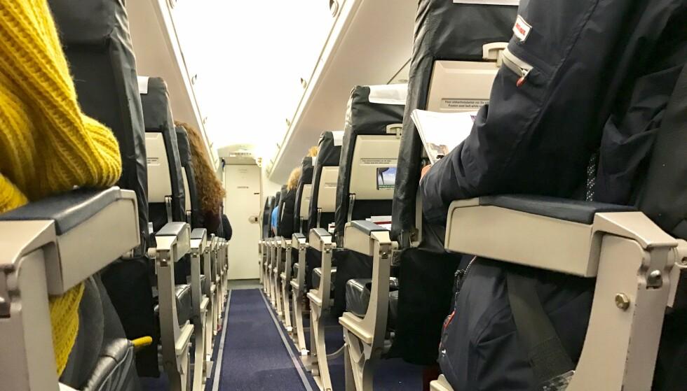 FULLE FLY: Når det er fullt på flyet kan det bety mange penger i erstatning til deg. Foto: Odd Roar Lange/The Travel Inspector