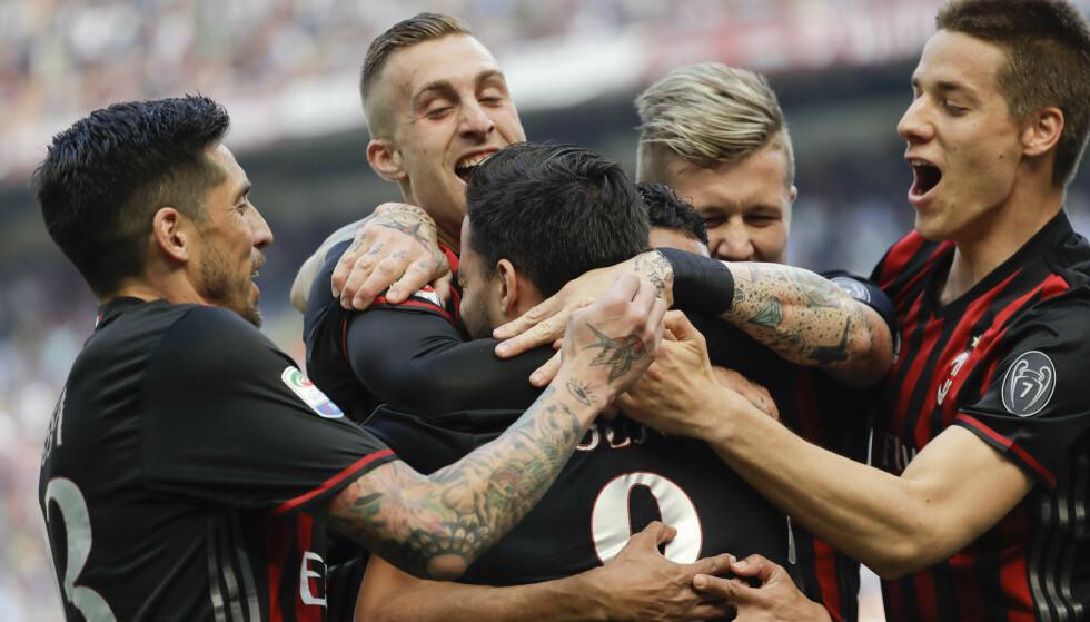 SOLGT: AC Milan får nye eiere. Foto: Luca Bruno / AP / NTB scanpix