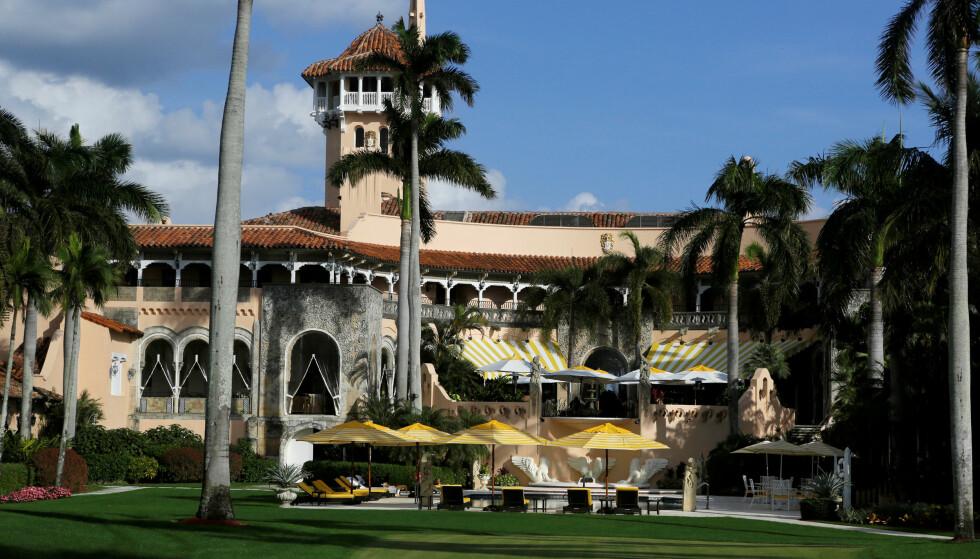 MAR-A-LAGO: Bare dager etter at Donald Trump ønsket Japans statsminister Shinzo Abe velkommen til USA og sin private golfklubb Mar-a-Lago i Miami, kom også det amerikanske mattilsynet på besøk. Da fant de hele 13 brudd. Foto: NTB Scanpix