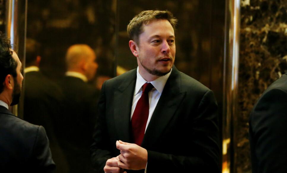 FORVENTNINGER: Tesla-sjef Elon Musk skaper forventninger i markedet når han nå avslører at selskapet vil komme med en semitrailer. REUTERS/Shannon Stapleton/File Photo