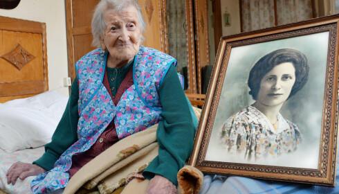 DØDE: Emma Morano ble 117 år. Foto: AP/ NTB Scnapix