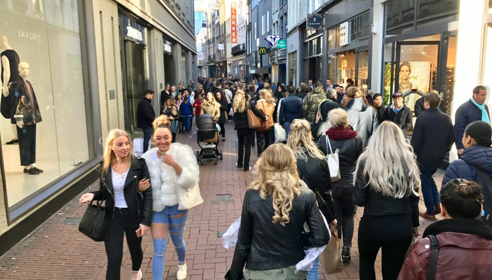 SPAR TUSENER: 37 forskjellige land over hele verden er med i tax-free-shopping-ordningen som gjør at du kan handle i vanlige butikker og å få tilbake momsen etter handelen. Foto: Odd Roar Lange