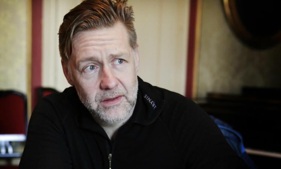 PÅ HØYDEN: På scenen spiller Mads Ousdal nå en melankoliker. Egentlig liker han bedre å være sirkushest. Foto: Frank Karlsen / Dagbladet