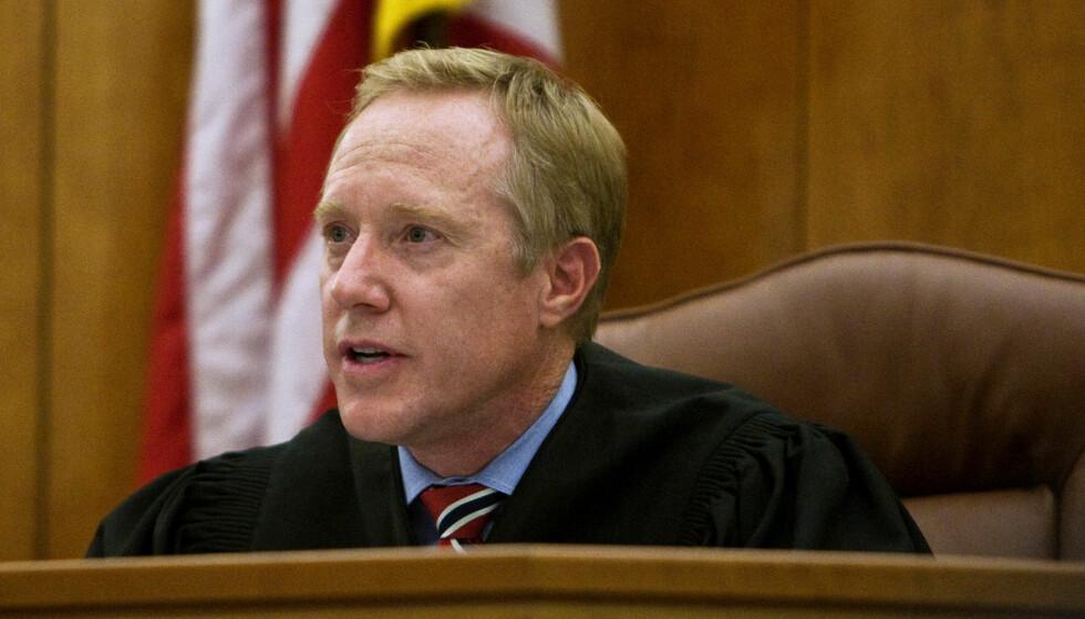GA ROS TIL VOLDTEKTSMANN: Dommer Thomas Low i Utah, USA er i hardt vær etter at han omtalte en dømt serieovergriper som en «usedvanlig god mann». Foto: Chris Detrick/The Salt Lake Tribune/AP/ NTB Scanpix