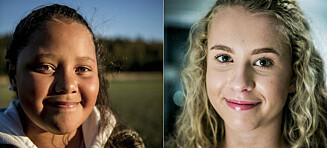 Viola og Karoline fikk kreft som barn. Nå er familiene glade for å ha fått hverdagen tilbake