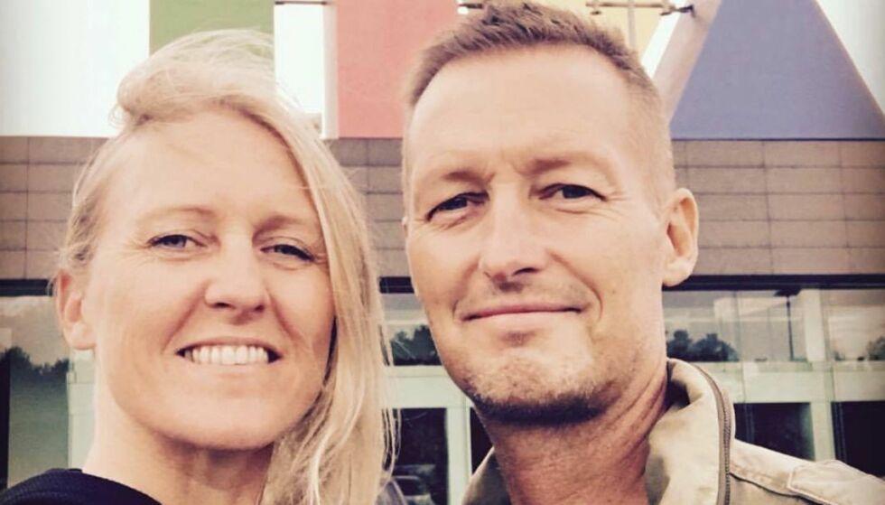 MISTET MINNER: Tine Bjørneboes mann Jacob døde i november i fjor. Nå har tyver stjålet to datamaskiner som inneholdt uerstattelige bilder. Foto: Privat