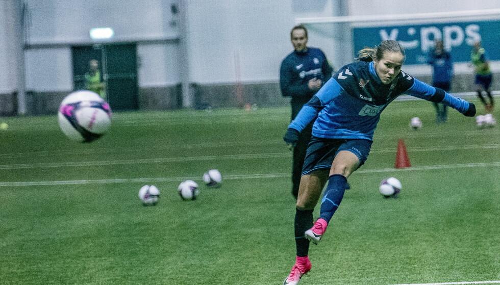 NYTT STJERNESKUDD: Guro Reiten kom til LSK fra Trondheims-Ørn før sesongen. Foto: Thomas Rasmus Skaug / Dagbladet