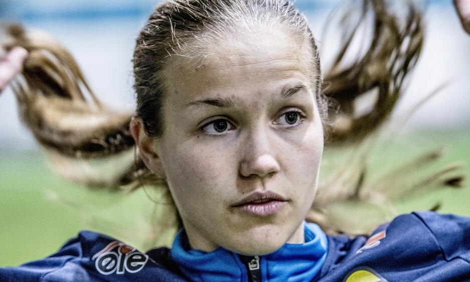 STORSPILLER: Guro Reiten kan bli Toppseriens store spiller. LSK-juvelen startet serien med to scoringer. Lørdag venter Arna-Bjørnar. Foto: Thomas Rasmus Skaug / Dagbladet