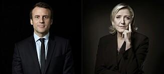 Macron ligger an til å gruse Le Pen. Likevel kan han bli maktesløs som president
