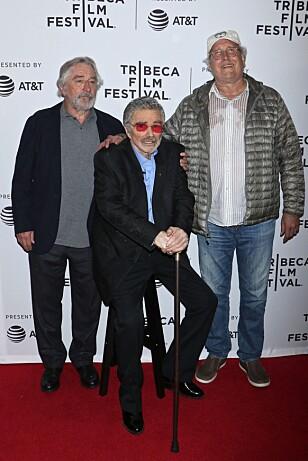 STOKK OG STOL: Burt Reynolds. Foto: NTB Scanpix