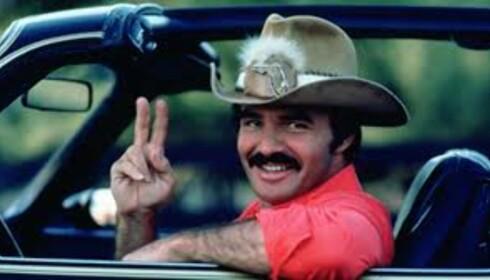 ÅRET 1977: Burt Reynolds fra «Smokey and the Bandit». Foto: Fra filmen