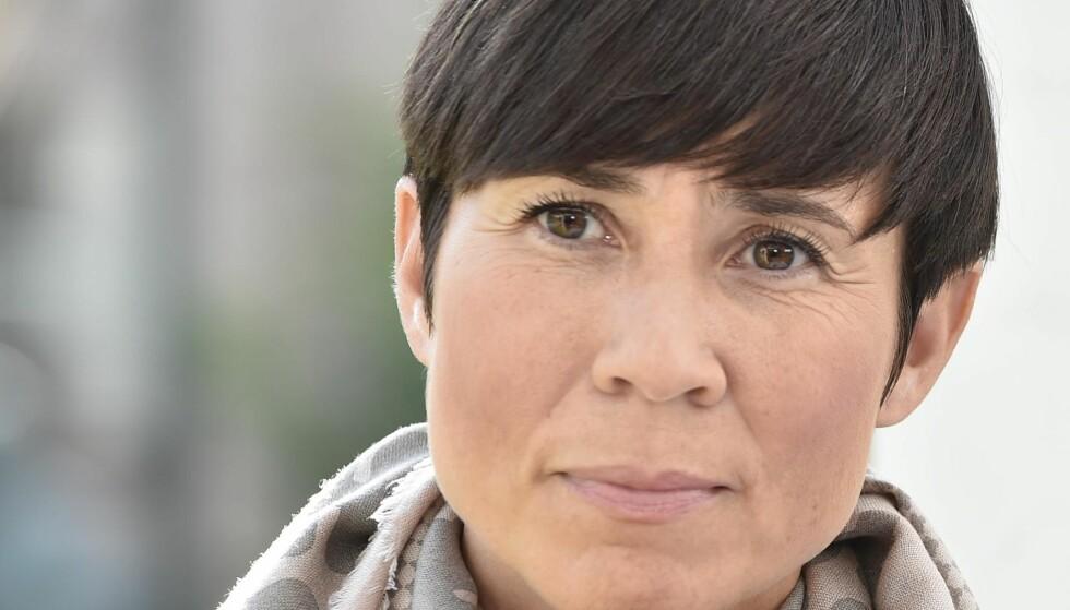 PÅ KILDEJAKT: Forsvarsminister Ine Eriksen Søreide. Foto: Hans Arne Vedlog / Dagbladet