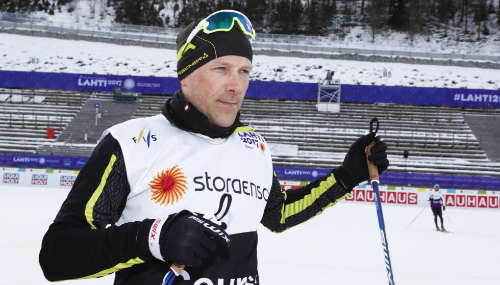 FORTSETTER: Stig Rune Kveen forblir Petter Northugs treneri. Foto: Terje Pedersen / NTB scanpix