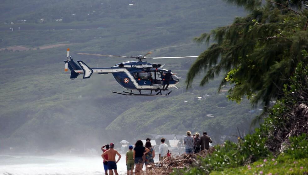 DREPT AV HAI: En 28 år gammel mann døde etter at han ble angrepet av en hai ved øya La Reunion i dag. Foto: Richard BOUHET/ AFP / Scanpix