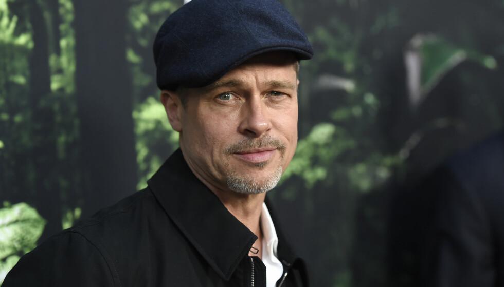 ÅPNER SEG: For første gang etter skilsmissen med Angelina Jolie åpner Brad Pitt seg opp om tiden etterpå. En tid preget av alkohol og en kamp for å bevise sin uskyld. Foto: NTB scanpix