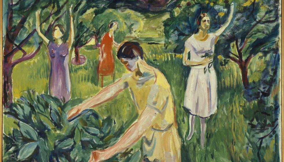Four Women in the Garden, 1926