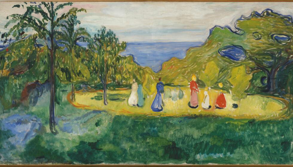 Summer in the Garden (The Linde Frieze), 1904
