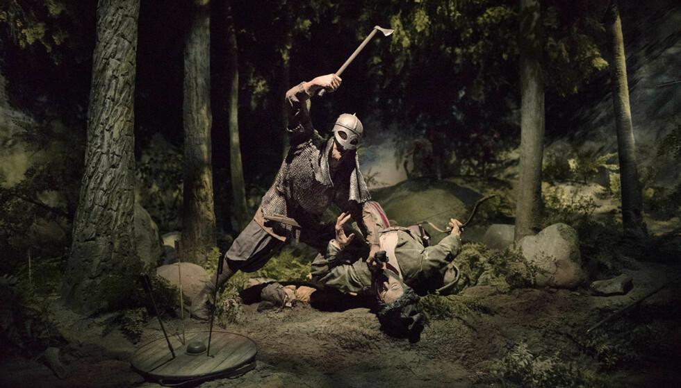 BLODIG ALVOR: Vikinglivet var dramatisk på mange måter. Men nå fortelles historien på en ny måte. Med mer om hverdagsliv enn bare dramatikken som kunne være en kamp på liv og død. Foto: Vikinga
