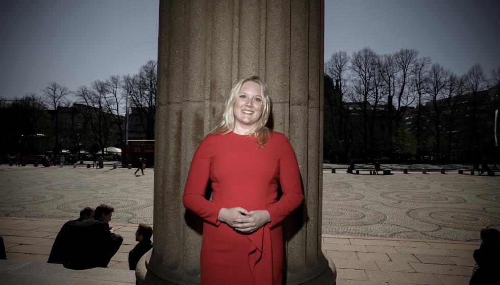 VANT: Aina Stenersen vant kampen om tredjeplassen i Oslo Frp. Foto: Tomm W. Christiansen / Dagbladet