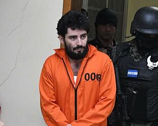 KREVER STRENG STRAFF: Plutarco Ruiz risikerer opptil 40 år i fengsel. Foto: AFP / NTB Scanpix