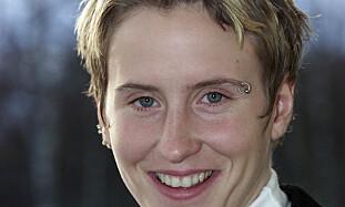I SKYGGEN: Denne 2001-utgave av Marit Bjørgen var ikke best i sin årsklasse. Spranget opp til Ekaterina Stchastlivaia var stort. Foto: Lise Åserud / SCANPIX