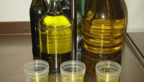 IKKE EXTRA VIRGIN: En av de mest utbredte matsvindelområdene er olivenolje. Foto: NTB Scanpix