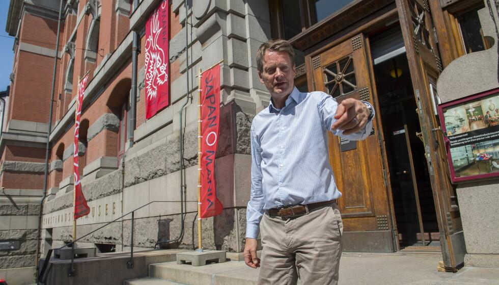 NASJONALGALLERIET: Bygningens skjebne er i spill. Nå ligger ballen hos politikerne, mener museumsdirektør Audun Eckhoff. Foto: Arne V. Hoem / Dagbladet