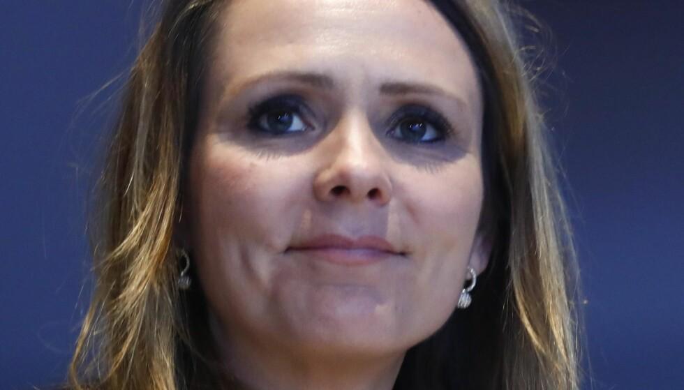 BØR SNU: Kulturminister Linda Hofstad Helleland (H)