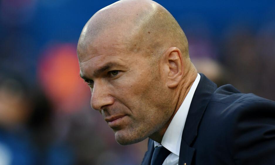 Real Madrid-trener Zinédine Zidane garanterer at han ikke går til mesterligafinalen mot gamleklubben Juventus med en følelse av splittet lojalitet.  Foto: NTB Scanpix