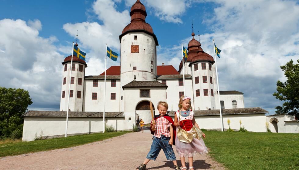 SVERIGES VAKRESTE: Slipp løs din indre prins eller prinsesse på Läckö Slott. (Foto Petter Magnusson/ vastsverige.com)