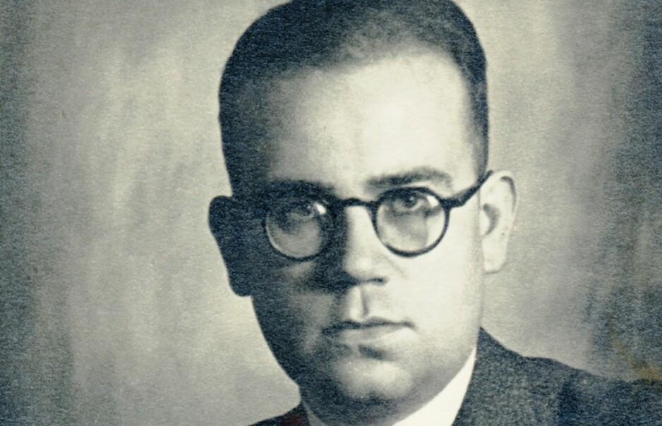 DØMTE STRENGT: SS-dommer Konrad Morgen, slik han framstår på omslaget til ei ny bok om mannen og hans besynderlige karriere.