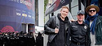 - Dette er det største sikkerhetsopplegget vi har sett rundt en Eurovision-finale