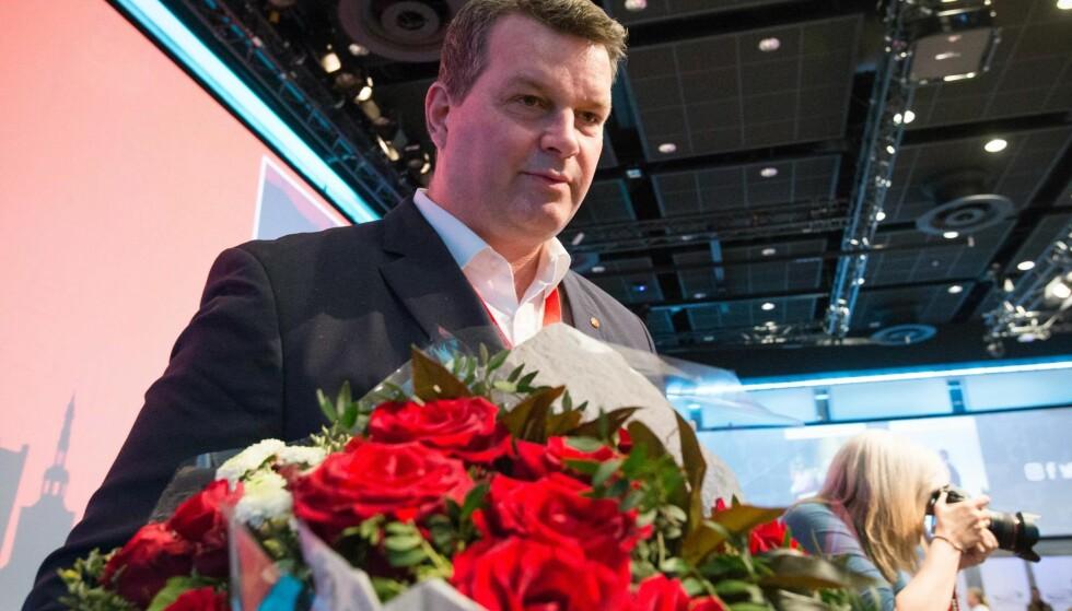 BLE IKKE HØRT: Nyvalgt LO-leder Hans-Christian Gabrielsen. Foto: NTB Scanpix