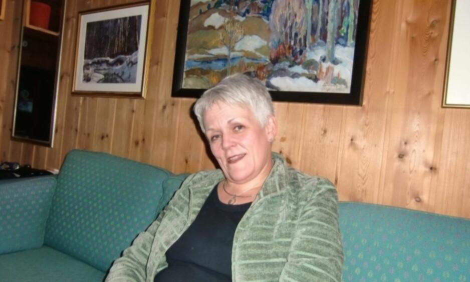 I RETTEN: Seriebedrageren Marie Madeleine Larsen forklarer seg i dag i Oslo tingrett om problemer i barndommen.