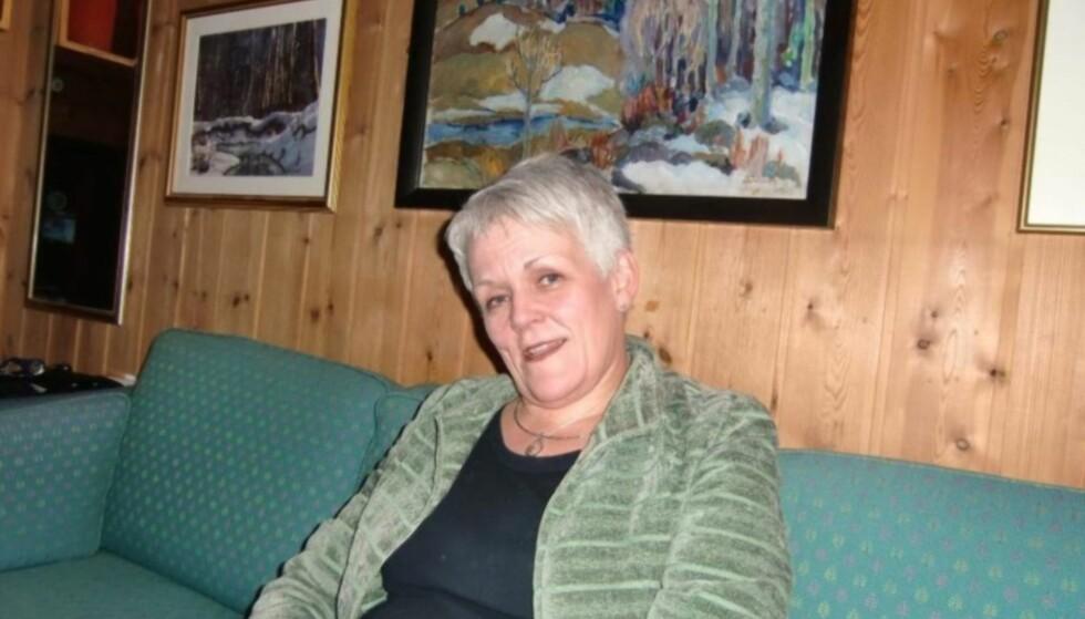 SATSER PÅ MEDLIDENHET: Marie Madeleine, nå med etternavn Steen, fra et besøk i Elverum desember 2011. Foto: Privat.
