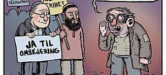 Israels ambassadør reagerer kraftig etter Dagbladet-tegneserie: - Skammelig