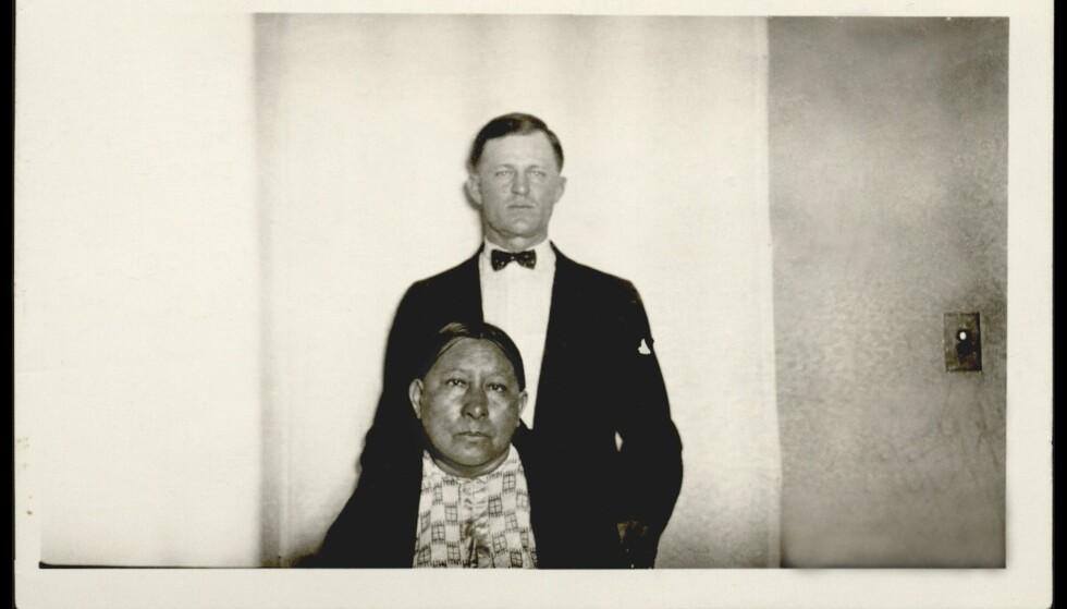 GIFT: Ernest og Mollie Burkhart giftet seg i 1917. Det endte i tragedie. Foto: Doubleday