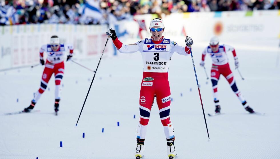 200 KRONER: For to hundrelapper kan du se de fleste langrennsøvelser i OL. Blant annet tremila der Marit Bjørgen trolig blir en av favorittene. Foto:  Bjørn Langsem / Dagbladet