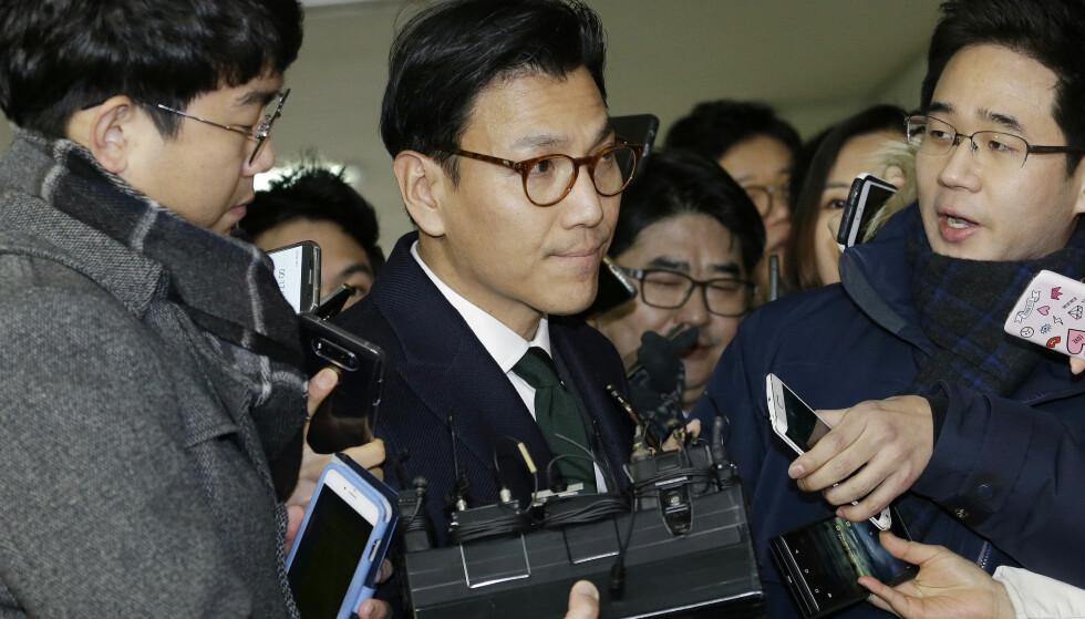 OL-TOPP: Kim Jae-Youl. Foto: AP Photo/Ahn Young-joon
