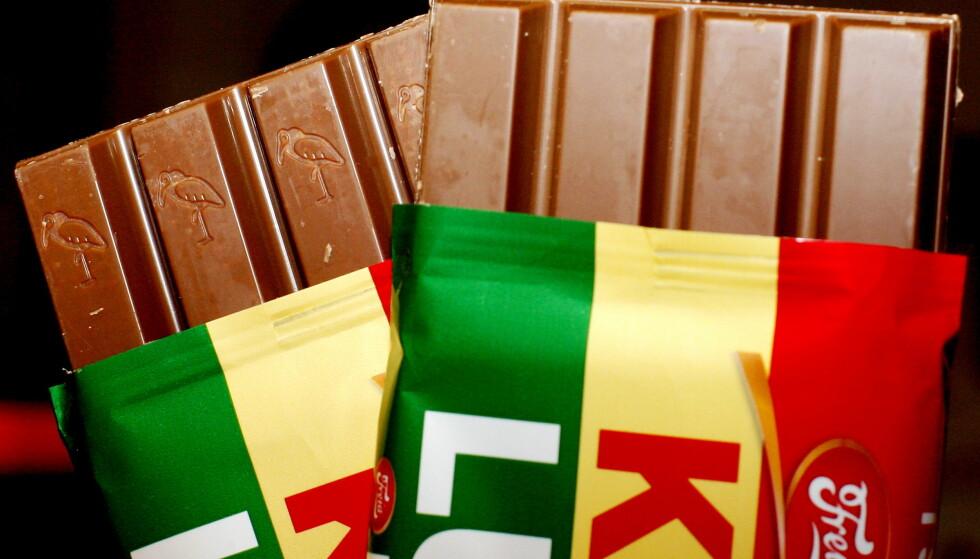 SJOKOLADE: Ida Gjessing, advokat og partner i advokatfirmaet Grette, sier det skal mye til for at et produkt får enerett på en form. Dette har KitKat forsøkt på i 11 år, uten å lykkes. Foto: DANIEL SANNUM LAUTEN/Dagbladet